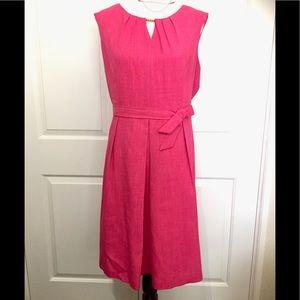Ellen Tracy fuchsia dress